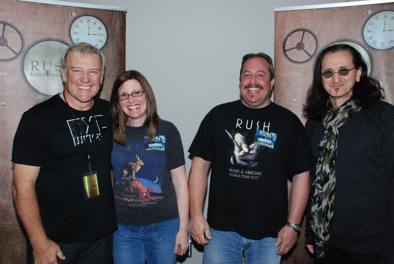 Rush Backstage Meet And Greets Showtechblog